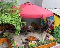 Şemsiye Evi Bahçe Şemsiyesi Örnek Model -39