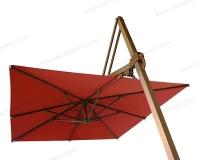 Yandan Direkli Plus Model Şemsiye Arkadan Görünüm