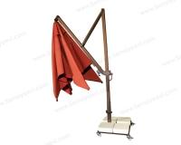 Yandan Direkli Plus Model Şemsiye Açılma Şekli