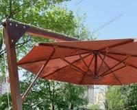 Yandan Direkli Yuvarlak Şemsiye - 04