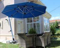 Yandan Direkli Yuvarlak Şemsiye - 07