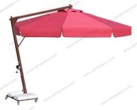 Yandan Direkli Yuvarlak Şemsiye - 16