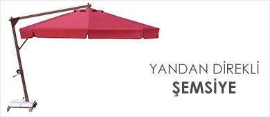 Yandan Direkli Mega Şemsiye Modelleri