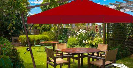 Bahçe Dekorasyonu Önerileri Şemsiye Evi Bahçe Şemsiyesi